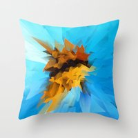 butterfly Throw Pillows featuring Butterfly by Paul Kimble