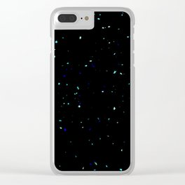 Stars on the Ground Clear iPhone Case