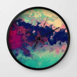 What am I painting? Wall Clock