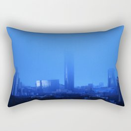 Blue rain Rectangular Pillow