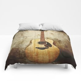 Dreams Are Written Here Comforters