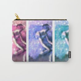 The Dancer Pastel by Degas Bokeh Sparkle Carry-All Pouch