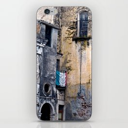 Medieval Sicilian Facade of Forza d'Agro iPhone Skin