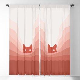 Cat Landscape 78 Blackout Curtain