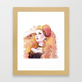 Agatha *GirlsCollection* Framed Art Print