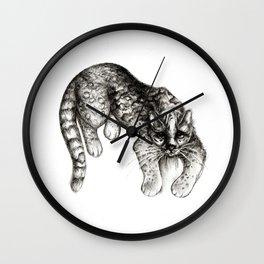 Tropical Wild Cat Wall Clock