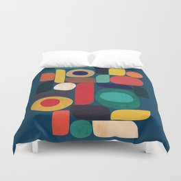 Miles and miles Duvet Cover