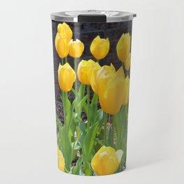 Yellow Tulips Travel Mug