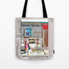 Bunkhouse Window Tote Bag