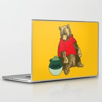 pooh Laptop & iPad Skins featuring Pooh! by Pieterjan Arends