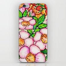 Briar Roses Framed iPhone & iPod Skin