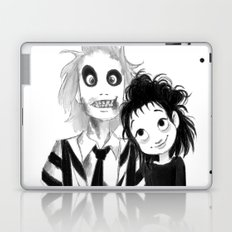 Beetle Juice fan art Laptop & iPad Skin