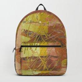 Shades of Gold by Australian Artist Vidy Potdar Backpack