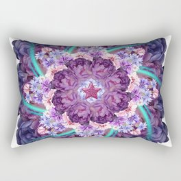 magic moment mandala Rectangular Pillow