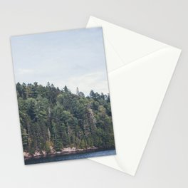 Surrounded by trees Stationery Cards