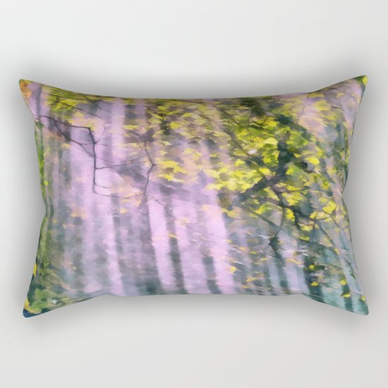 Forest light Rectangular Pillow