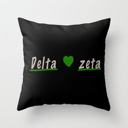 DZ stuff Throw Pillow