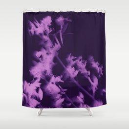 botanical - ultra violet Shower Curtain