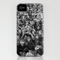 Mass hysteria iPhone (4, 4s) Slim Case