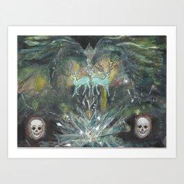 gemini nebula Art Print