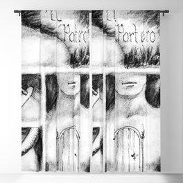 El Portero - Surreal Draw - Psychological Visual Story Blackout Curtain
