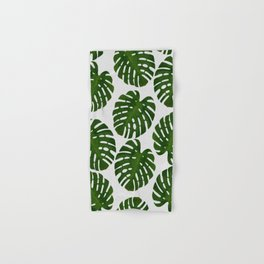 Monstera Leaf III Hand & Bath Towel