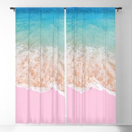 PINK SAND Blackout Curtain