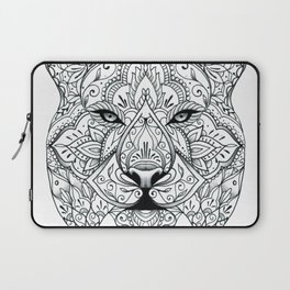Big Cat Portrait Laptop Sleeve