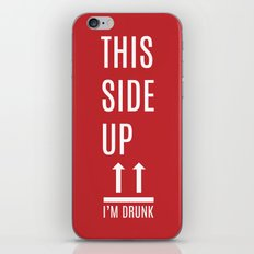 This side up iPhone & iPod Skin