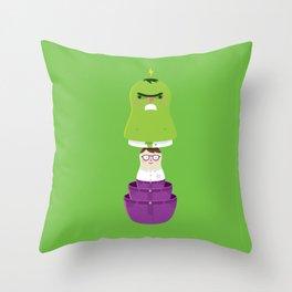 Smashtrioska Throw Pillow