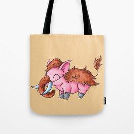 Piggy Mammoth Tote Bag