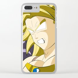 Rage Broly Clear iPhone Case