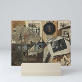 Sebastiano Lazzari - Trompe-l'œil Still Life Mini Art Print