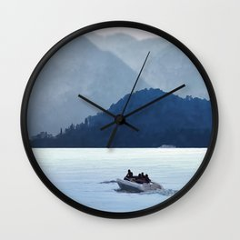 Lake Como Wall Clock