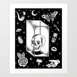 Glass Box Art Print