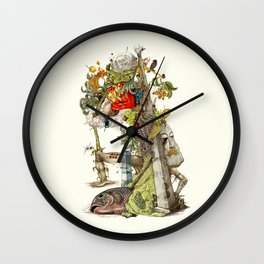 compositions Naturally Wall Clock