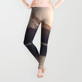 Wild Mountain Sunrise Leggings