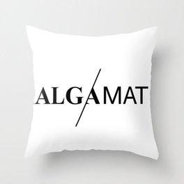 Amalgamation #6 Throw Pillow