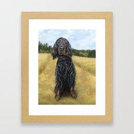 Gordon Setter Framed Art Print