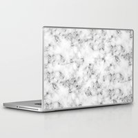 marble Laptop & iPad Skins featuring Real Marble  by Grace