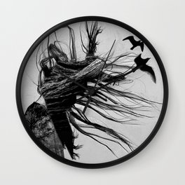 NEVER BEFORE Wall Clock