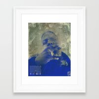 notorious Framed Art Prints featuring Notorious  by Chris Charles