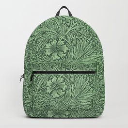 Marigold Green by William Morris Backpack