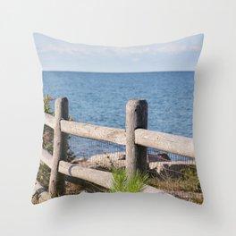 AFE Kew-Balmy Beach 4 Throw Pillow