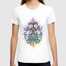 Unique - Art - Dodo - Happy - Robots - scifi - festival - wear T-shirt