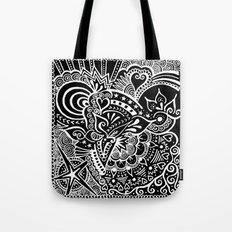 Rebirth Zentangle Tote Bag