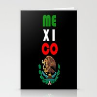 mexico Stationery Cards featuring Mexico  by RDsix3