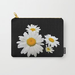 Think Flowers - Shasta Daisies Carry-All Pouch