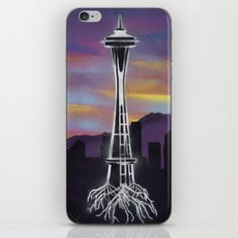 Rooted in Seattle 1 iPhone Skin