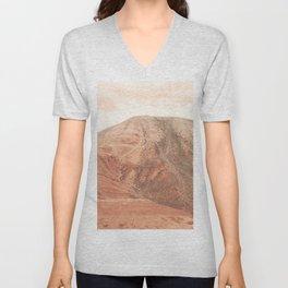 Desert Landscape Unisex V-Neck